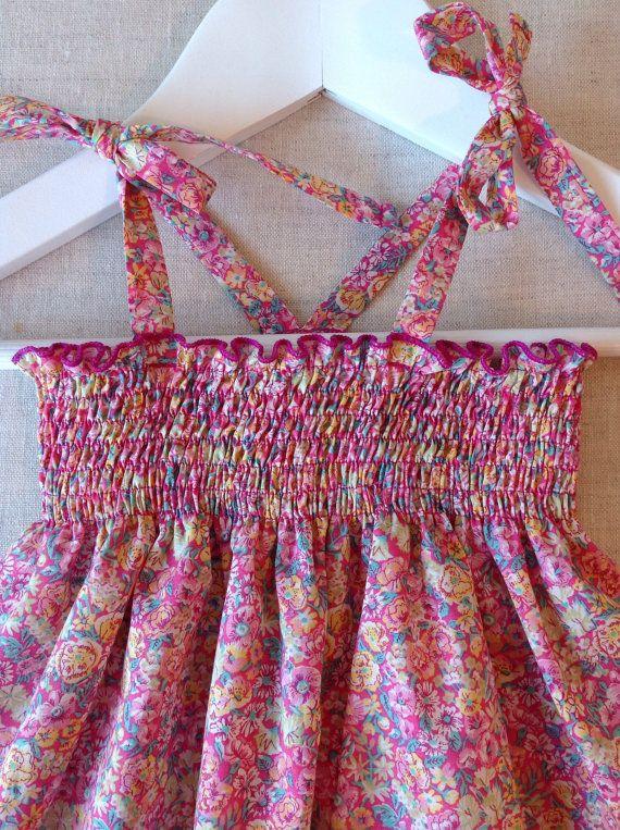 Chive Summer Dress in Liberty Tana Lawn / by RhapsodyandThread  Shop Rhapsodyandthread.etsy.com   #libertyaddict #littlelibertygirl #libertywardrobe #libertyfabric #libertyprint #girlsfashion #girlsclothing #kidstyle #minifashion #younggirlsclothing #christmasgiftideas #australianmade