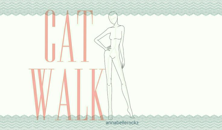 Cat walk - text