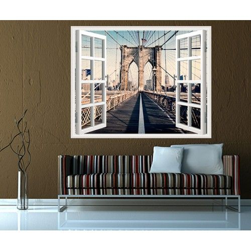 Pencereden brooklyn köprüsü