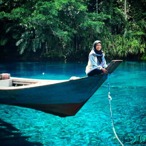 Danau Labuhan Cermin, Berau, Kalimantan Timur
