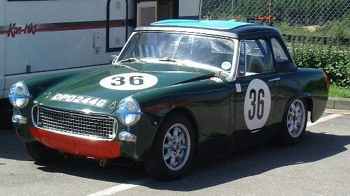 This will hopefully be the finished design for our MG Midget