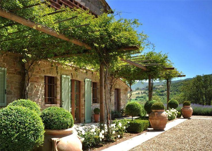 Facciate esterne case di campagna ka42 regardsdefemmes for Giardini in villette