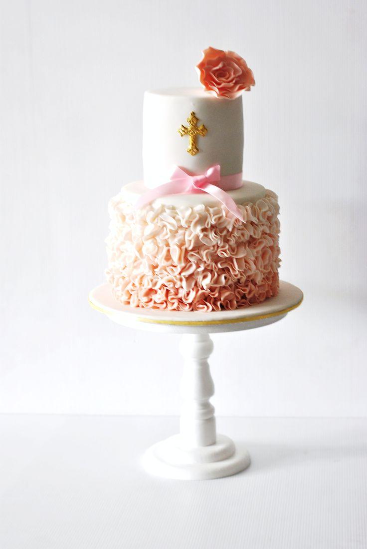 GORGEOUS Dedication or Baptism cake