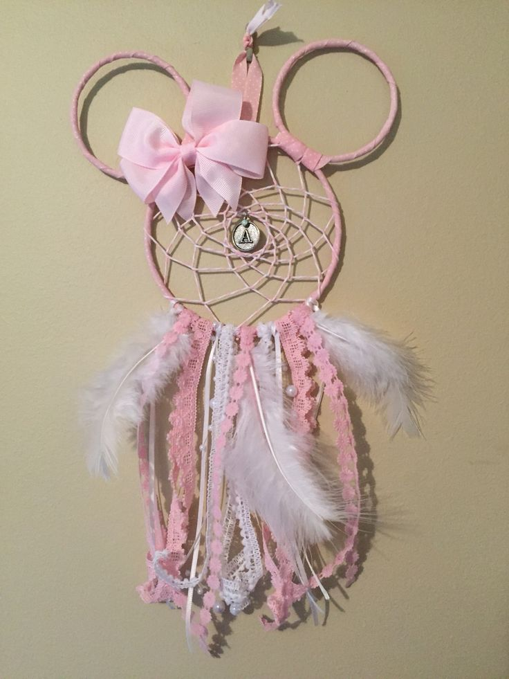 Minnie Mouse dream catcher. KRW