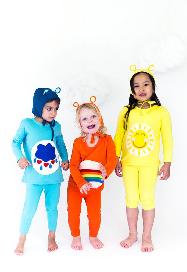Toddler Halloween costumes - Care Bears