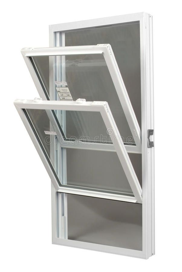 Tilt In Replacement Window A Tilt In Double Hung Replacement Window Isolated Sponsored Home Improvement Financing Home Interior Design And Construction