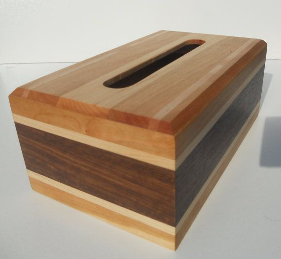 Tissue Box Cover Hand Made Wooden For S Pinterest Bo Covers And