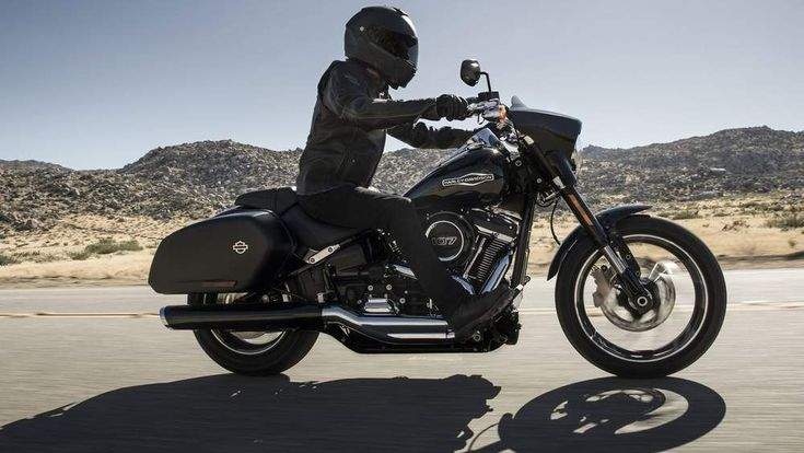 2018 (and a half) Harley-Davidson Sport Glide #harleydavidsonbreakout
