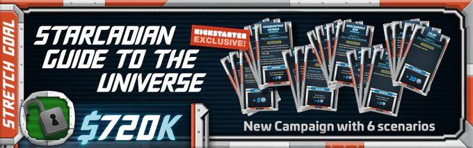 STARCADIAN GUIDE TO THE UNIVERSE Starcadia Quest Kickstarter Exclusive Scenarios