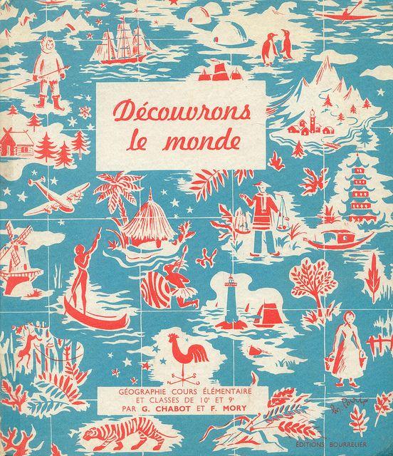 Livre de géographie 1961