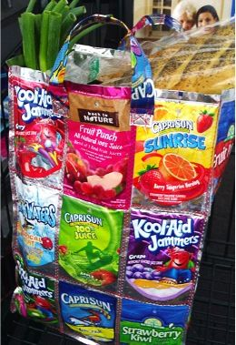 FREE E-book     How to Make Juice Pouch Bags  http://thefrugalgirls.com/2012/07/how-to-make-juice-pouch-bags.html#