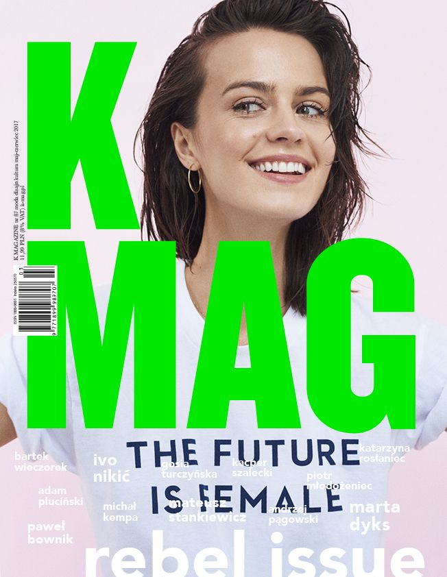 New K MAG Issue #87 Model Marta Dyks  Foto Mateusz Stankiewicz