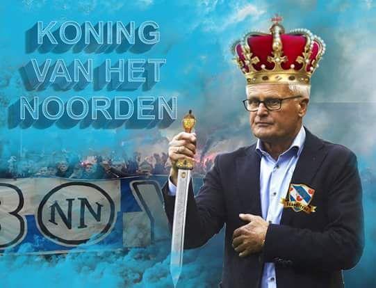 FOPPE! Koning van het noorden! Deze eindbaas pakt even zes punten tegen aartsrivaal Cambuur in zijn laatste seizoen voor sc Heerenveen.