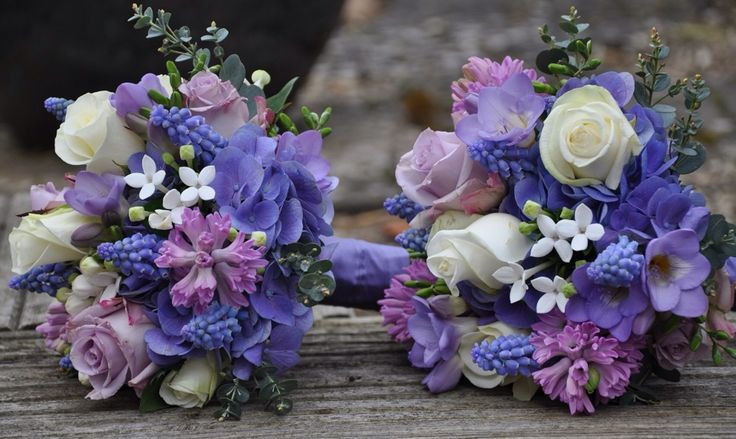 karen tran purple lavender | Lilac bridesmaid bouquets