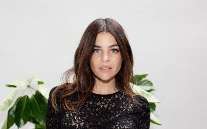 Julia Restoin Roitfeld at Mango's Madrid store launch