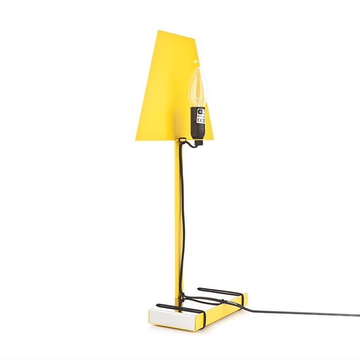 Lampada 2.D Living giallo  by Caoscreo $115