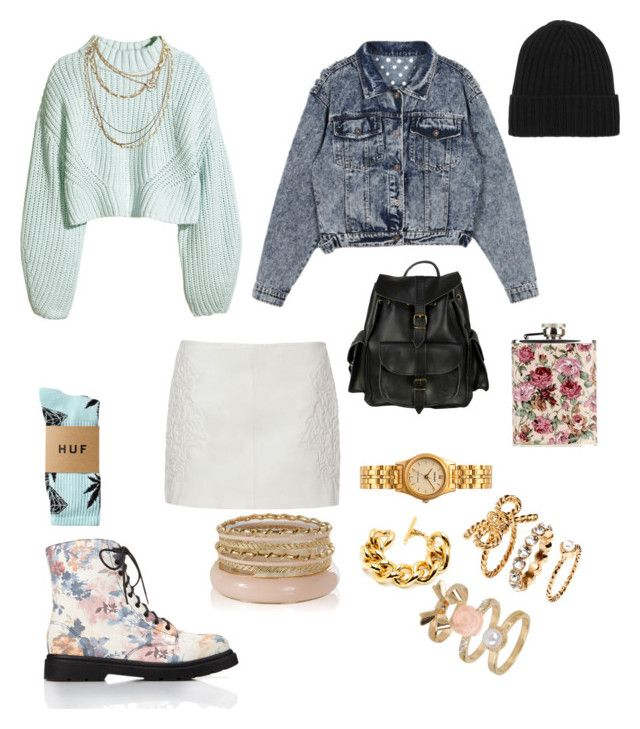 """""""doesthisblvckmatch.tumblr.com"""" by does-this-black-match ❤ liked on Polyvore featuring Forever 21, H&M, Zara, HUF, Ben-Amun, Chanel, N.Peal, American Apparel, VIPARO and vintage"""