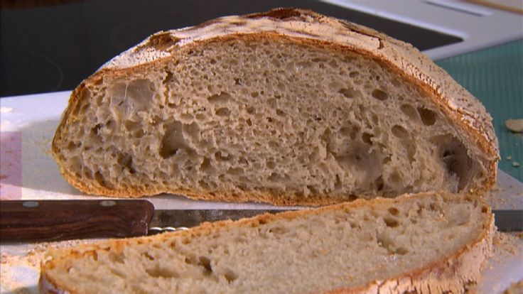 Brød uten å kna eller no knead bread. Oppskrift med video.