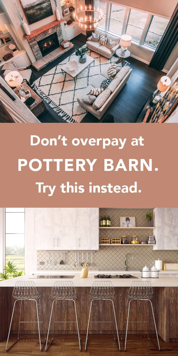 The Genius Trick Every Pottery Barn Shopper Should Know Wikibuy In 2020 Country House Decor Country Style Homes House