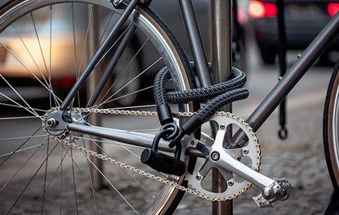Texlock Fahrradschloss Aus Hightech Textilien Fahrradschloss