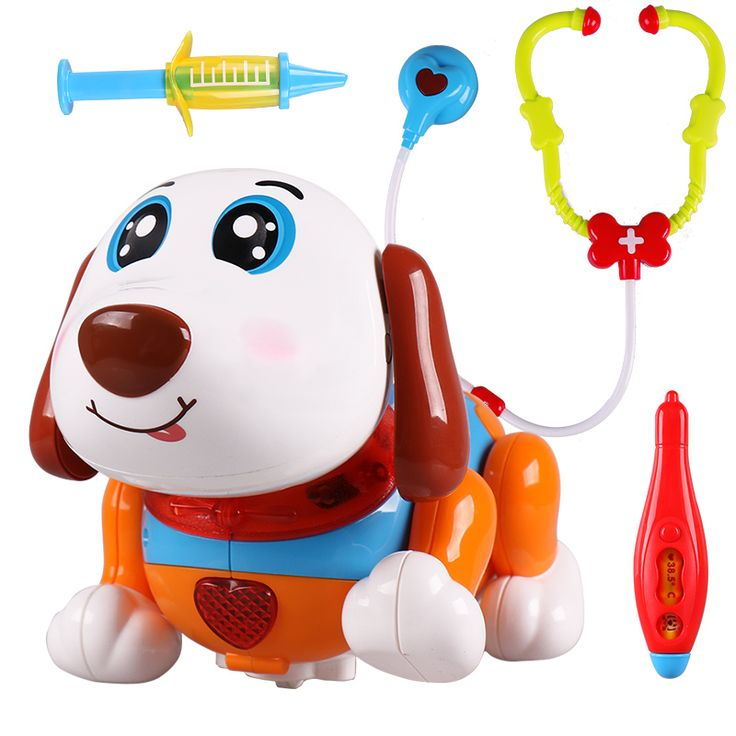 ==> [Free Shipping] Buy Best ABS cute children gifts electric dog pet clinic puzzle intelligent machine dog toy can dance Online with LOWEST Price | 32730768787