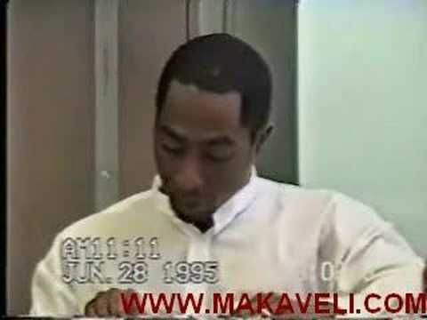 2pac interview by judge, it's interesting to hear him talk about his poetry