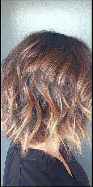 ombre short hair by esmeralda