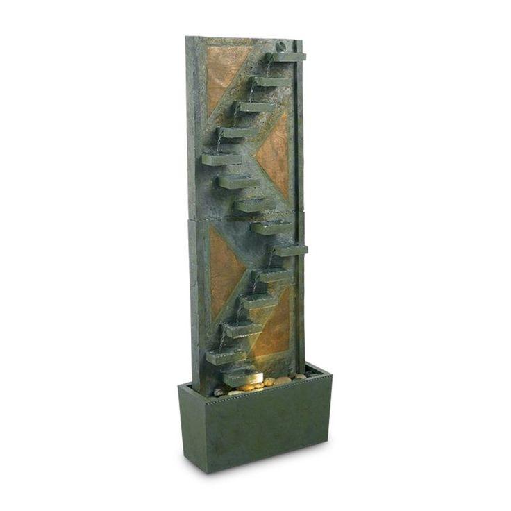 Kenroy Traverse Floor Indoor Fountain - 53205SLCP