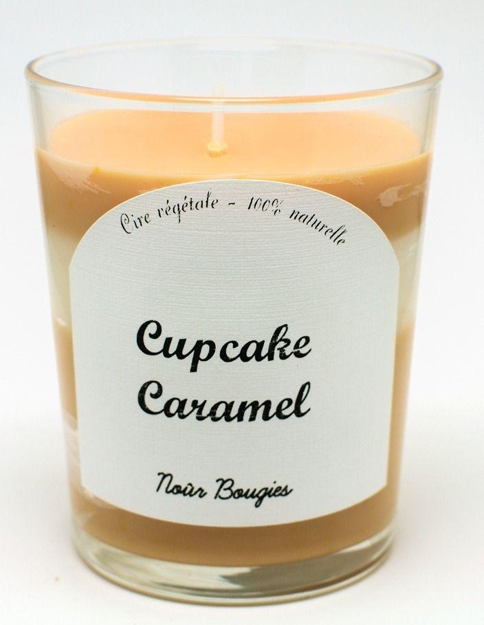Bougie parfumée Cupcake Caramel / Nour Bougies Factory : Accessoires de maison par nourbougiesfactory