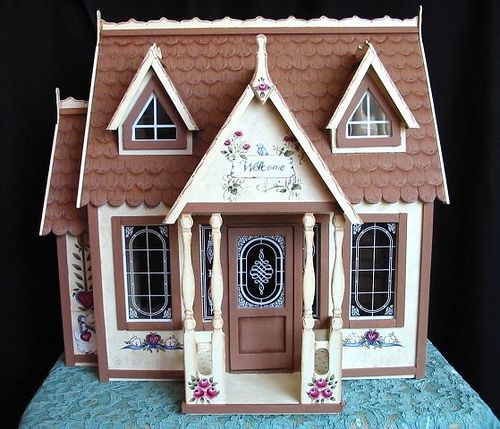 Tole Painted Miniture Houses | Recent Photos The Commons Getty Collection Galleries World Map App ...