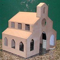 Fabrication de l'église