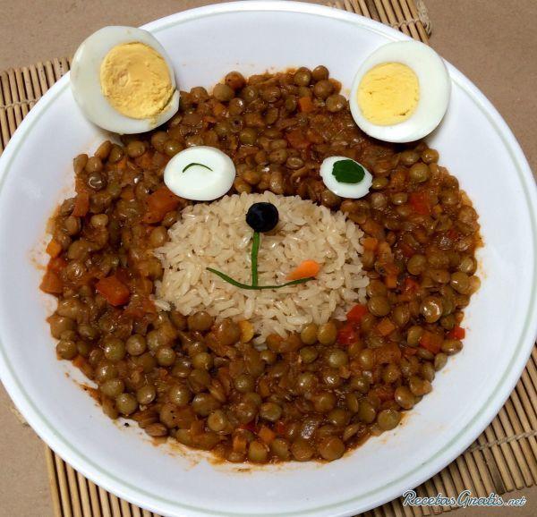 Receta de lentejas para ni os recipe food food art for Comidas rapidas para ninos