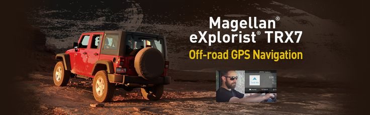 Magellan eXplorist TRX7 Off-road GPS-Navigation