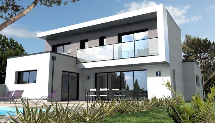 Les 34 meilleures images du tableau maison toit plat sur pinterest maison toit plat for Construction maison moderne