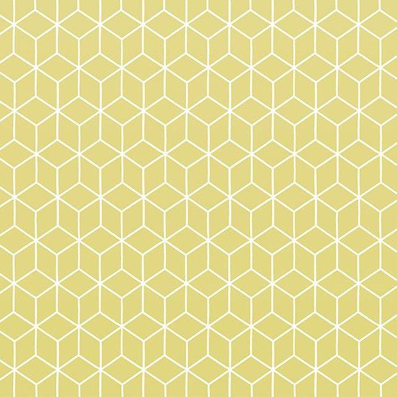 Papier peint Kube couleur jaune anis de la collection Au fil des Couleurs panoramiques Vol.1 http://www.aufildescouleurs.com/volume-1/5294-kube-yellow.html