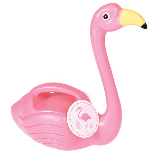Tropical Pink Flamingo Watering Can - Perfect to achieve the tropical theme within your home and garden.