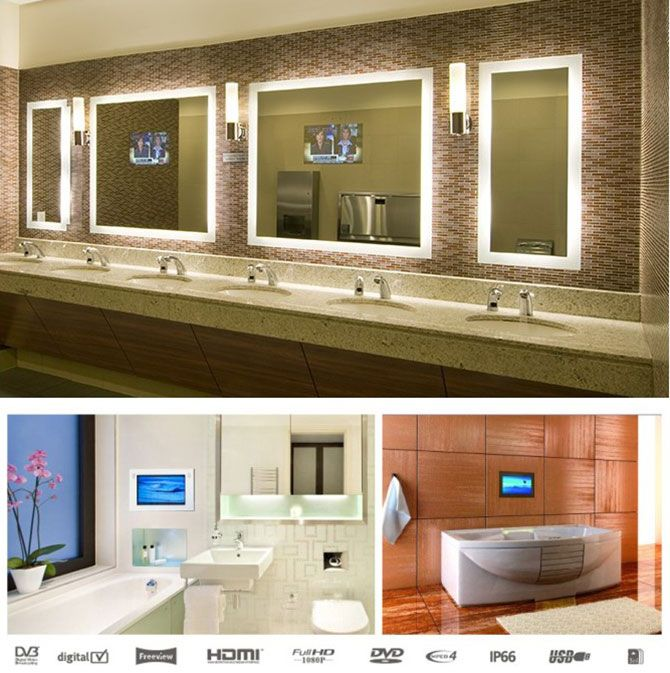 Tv Mirror Tv Mirorr Price Waterproof Tv Waterproof Bathroom Tv Mirror From Nrg