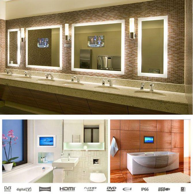 Tv Mirrortv Mirorr Price Waterproof TVWaterproof Bathroom TV Mirror From NRG Choicetopia