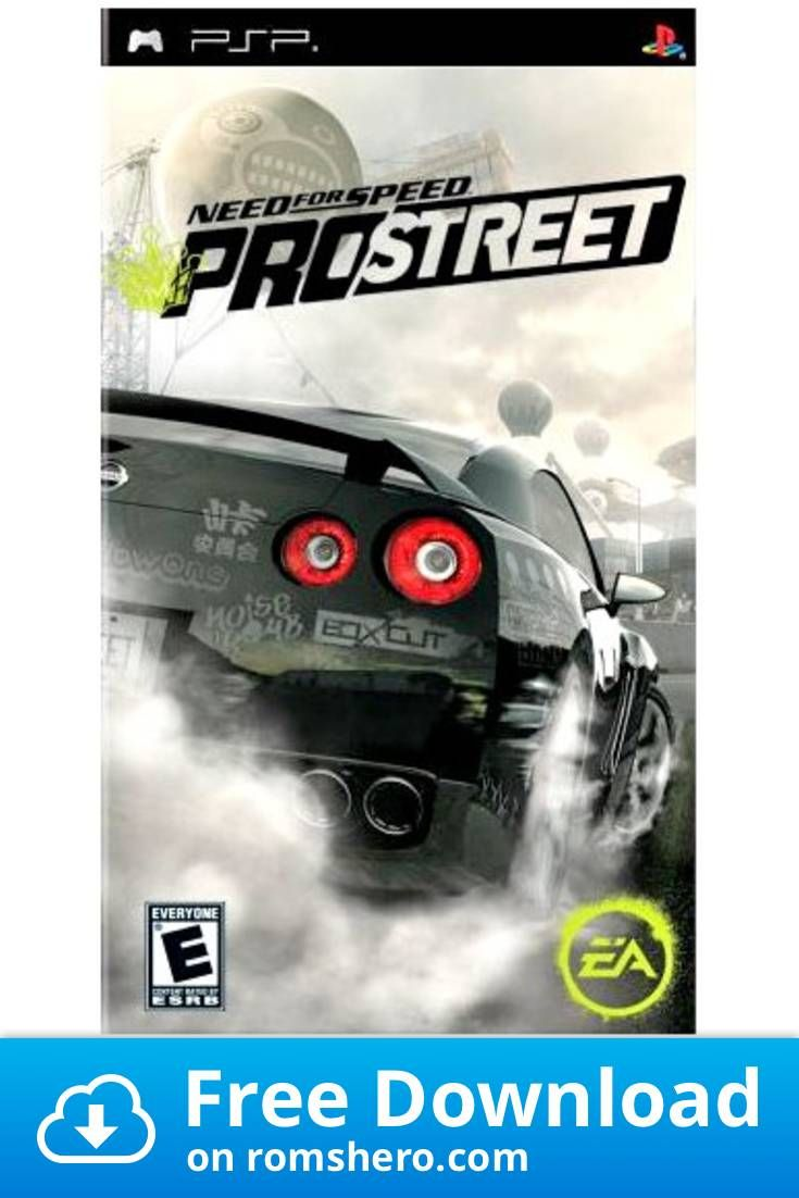 Download Need For Speed Prostreet Playstation Portable Psp