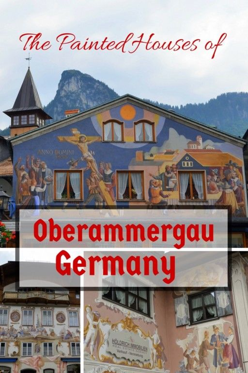 Germany with Kids: The Passion Play and Painted Houses in Oberammergau   guide and tips to visiting this charming town in Bavaria