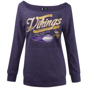 Misses' Minnesota Vikings Sweatshirt - Purple - Mills Fleet Farm