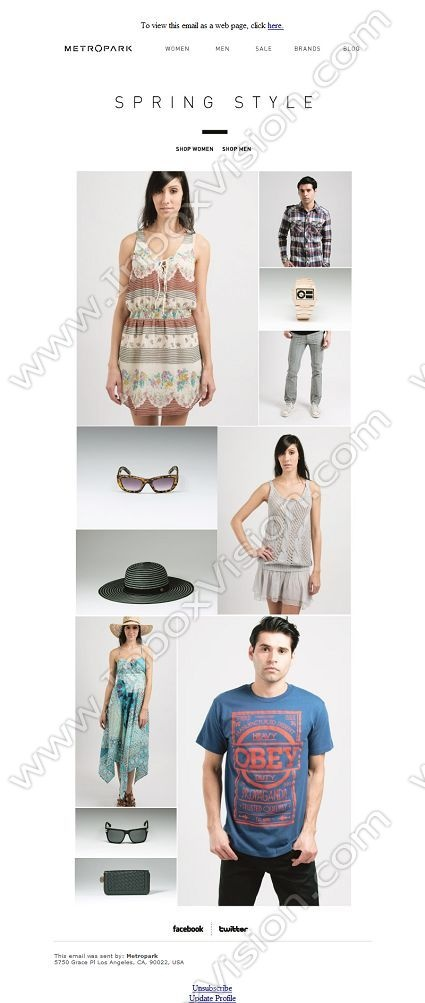 Company:  Metropark Subject:  New Styles For Spring - Shop Now              INBOXVISION providing email design ideas and email marketing intelligence.    www.inboxvision.com/blog/  #EmailMarketing #DigitalMarketing #EmailDesign #EmailTemplate #InboxVision  #SocialMedia #EmailNewsletters