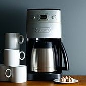 "Cuisinart ""Grind & Brew Thermal�"" 10-Cup Automatic Coffee Maker"