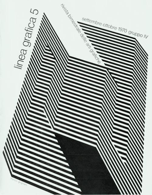 «Linea Grafica» 5/1970,  Archivio/Fondo Alfredo Mastellaro....