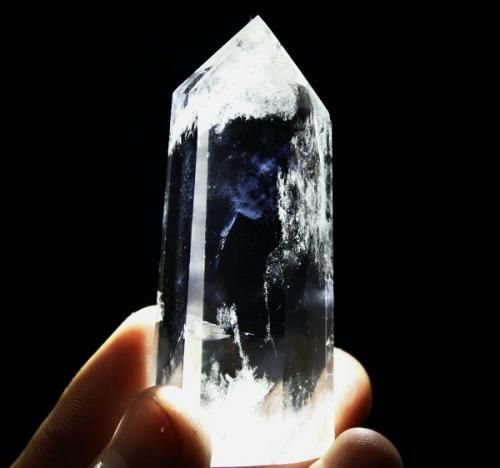 エンジェルフェザー・クリスタル(ポイント水晶、クリア・クォーツ)中国産  80.6g/ 鉱物 - 天然石・パワーストーンのルース、ペンダント、アクセサリー Stone marble