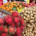 Tasty fruit at a Kuala Lumpur fruit market