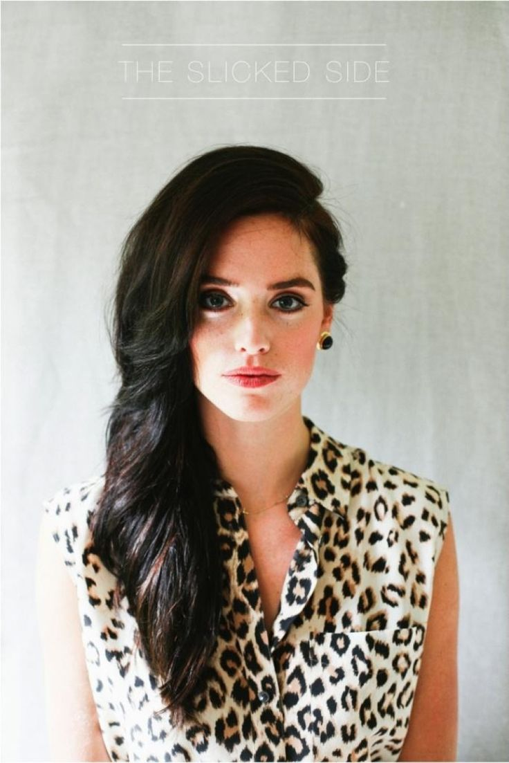 Side swept hair: http://www.stylemepretty.com/living/2014/01/17/8-hairstyles-every-girl-should-know/