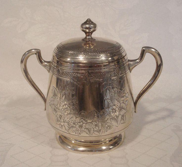Zuckerdose Antik 84-er Silber Russland Moskau 1895 Original russian silver