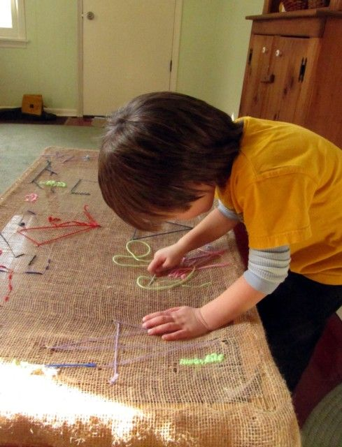 Wool & String (Reggio) Tapestry Table