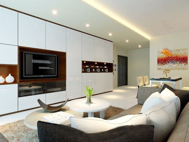 Interior Design By Rezt N Relax For Waterview Condo In Singapore Home RenovationsLiving Room